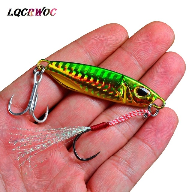 HOT NEW 10g 15g 20g 30g 40g 50g fishing jigging lure spoon spinnerbait metal bait bass tuna lures jig lead minnow pesca tackle 1