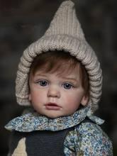 60 Cm Real Touch Reborn Peuter Baby Meisje Afgewerkte Pop Doek Lichaam Speelgoed Realistische Zachte Siliconen Prinses Alive Bebe 3D-Paint huid