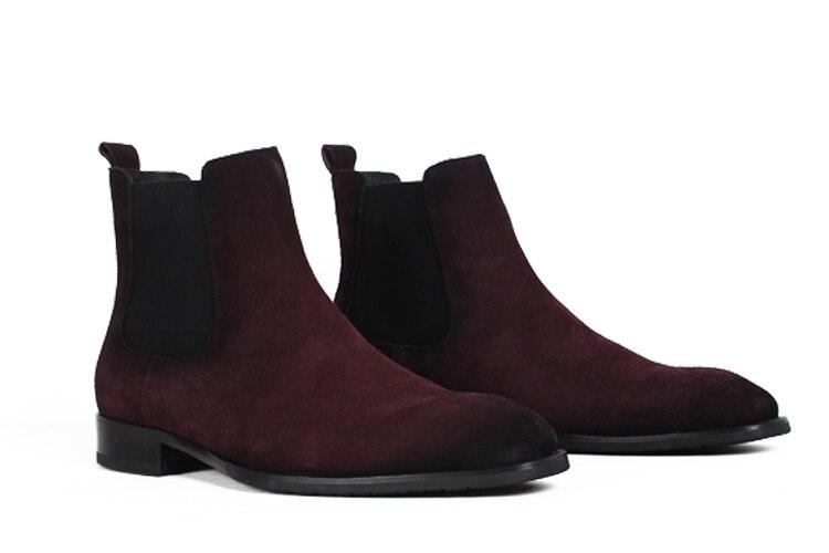 de camurça inverno masculino sapatos retro do