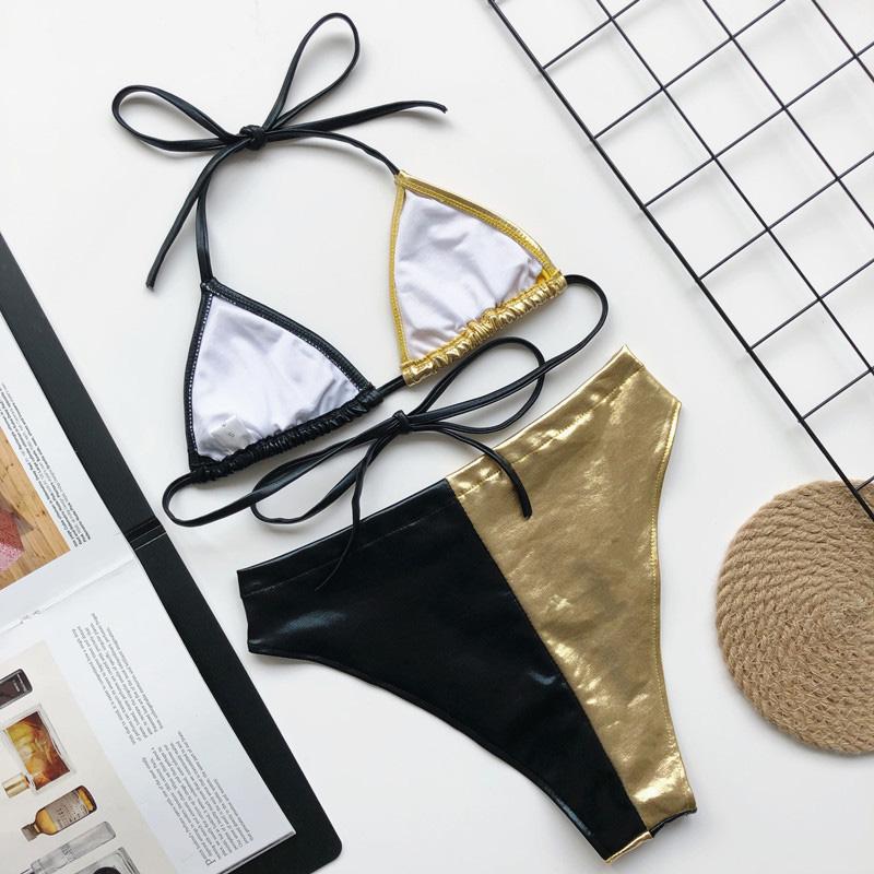 INGAGA, перекрестный бандаж, бикини, набор, сексуальный, открытая, купальник, женский, Леопардовый, пуш-ап, купальник для женщин, 2020, бантик, бики... 57