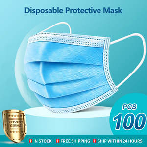 Masks Safety-Protection Health-Care Adult Disposable Anti-Dust Elastic Mouth Breathable