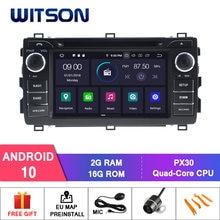 WITSON Android 10,0 IPS HD экран для TOYOTA AURIS 2013 автомобильный DVD Радио GPS 4 Гб ОЗУ + 64 Гб FLASH 8 Octa Core стерео + DVR/WIFI + DSP + DAB