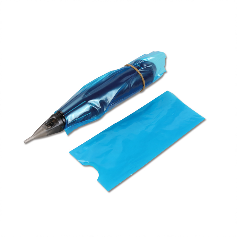 200 Pcs/set  Blue Tattoo Clip Cord Sleeves Bags Supply Disposable Covers Bags For Tattoo Pen Machine Tattoo Accessories