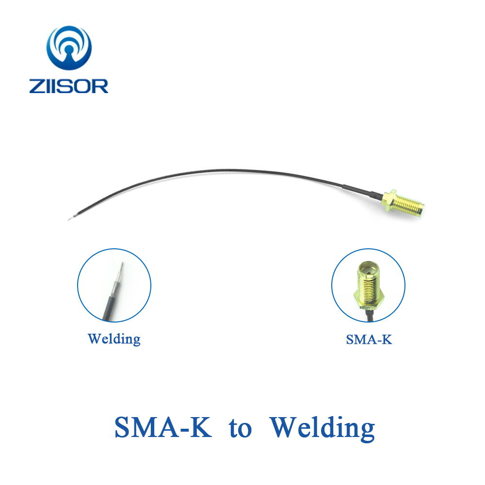 Antenna Extended Cable With Adapter SMA Female To Welding Soldering Connector Extensible Feeder RG113 Pigtail