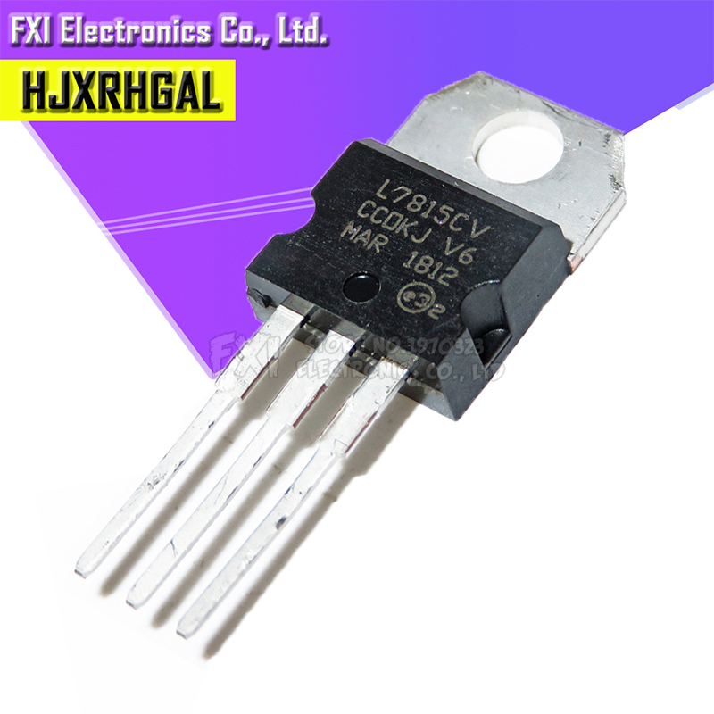 10PCS L7815CV TO220 L7815 TO-220 7815 LM7815 MC7815 Stabilivolt Voltage-regulator Tube New Original