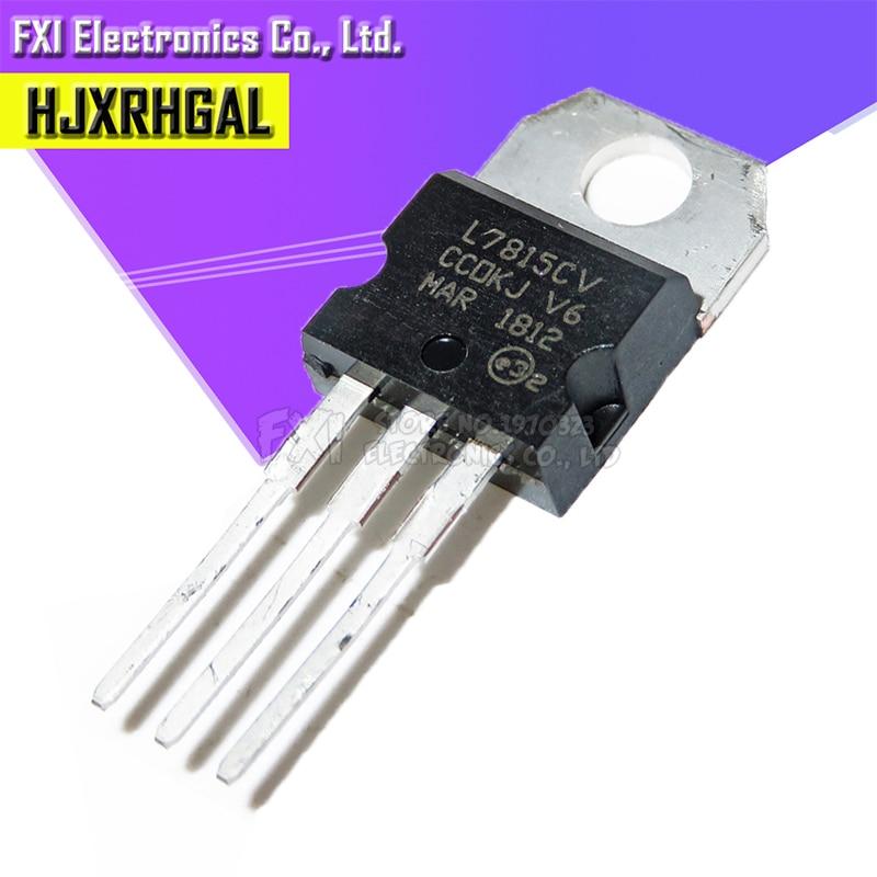 10PCS L7815CV TO220 L7815 TO-220 7815 LM7815 MC7815 stabilivolt voltage-regulator tube New original