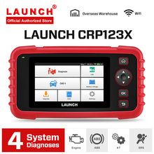 цена на LAUNCH X431 CRP123X Car Scanner OBD2 Automotive Diagnostic Tool Auto Scan Tools Engine ABS SRS AT Test PK Creader VII+ CRP123
