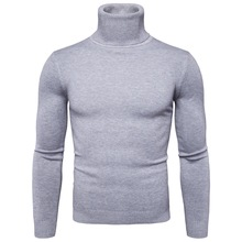 Favocent冬暖かいタートルネックセーター男性ファッションソリッドニットメンズセーター2020カジュアル男性二重襟スリムフィットプルオーバー