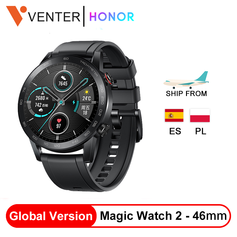 In Stock New Global Version Honor Magic Watch 2 Smart Watch 14 Days Bluetooth 5.1 Waterproof Sports Watch For Android IOS Watch