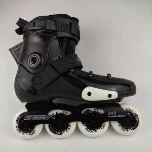 Image 3 - Japy סקייט 100% מקורי SEBA FRMX מקצועי סלאלום Inline גלגיליות מבוגרים נעלי החלקה על רולר הזזה משלוח החלקה Patines