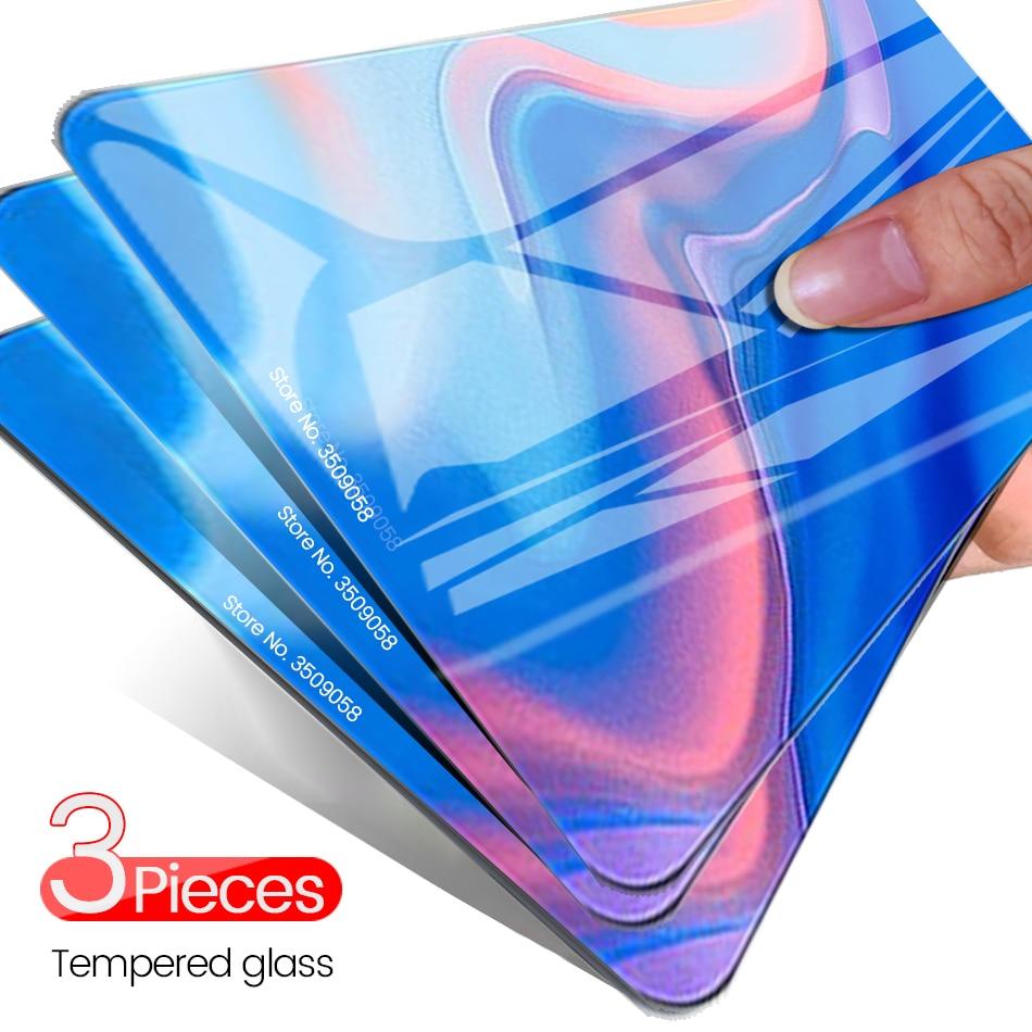P Smart Z Glass 3-1Pcs Protective Glass For Huawei P Smart 2018 Psmart 2020 Glass Screen Protector Hauwei P Smart Plus 2019 Glas