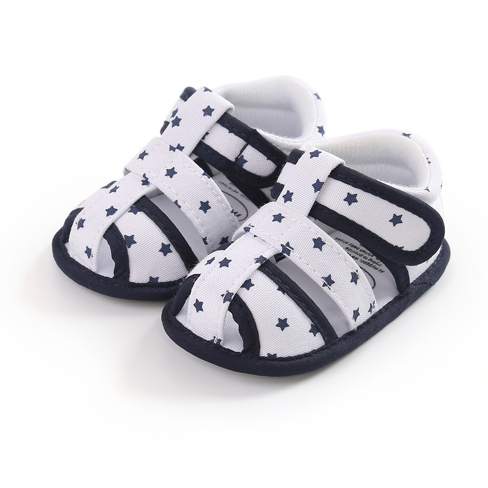2020 Brand New Toddler Infant Newborn Kids Baby Boys Canvas Soft Sole Crib Sneakers Sandals Shoes Fashion Baby Shoes