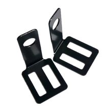 1pair Retro Easy Install Universal Motorcycle Accessories Stand Cycling Durable Turn Signal Light Bracket Metal Lamp Holder Rear