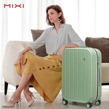 Mixi Women Travel Luggage KOL Carry On Suitcase Men Business Travel Bag Hardside PC Spinner Rolling Wheels TSA Customs Lock
