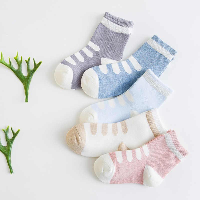 Nan tong casa primavera y otoño bebé Calcetines hombres y mujeres NIÑOS Calcetines de tubo de peinado de dibujos animados de algodón Jacquard con absorción de sudor B