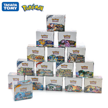 324Pcs/Box Pokemon Cards Sun & Moon Hidden Fates English Trading Card Game Evolutions Booster Collectible 16 Style Card Toy