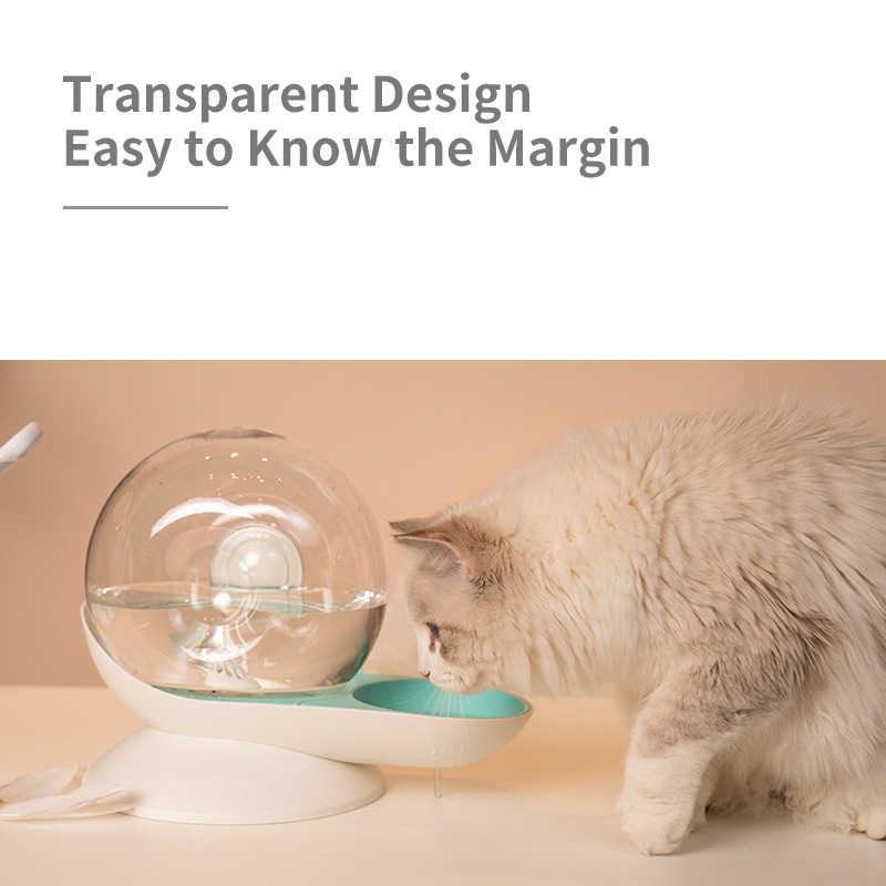 2.8l 애완 동물 자동 개 그릇 고양이 마시는 그릇 애완 동물 강아지 물 그릇 병 개 고양이 누출 방지 식수 공급기 개