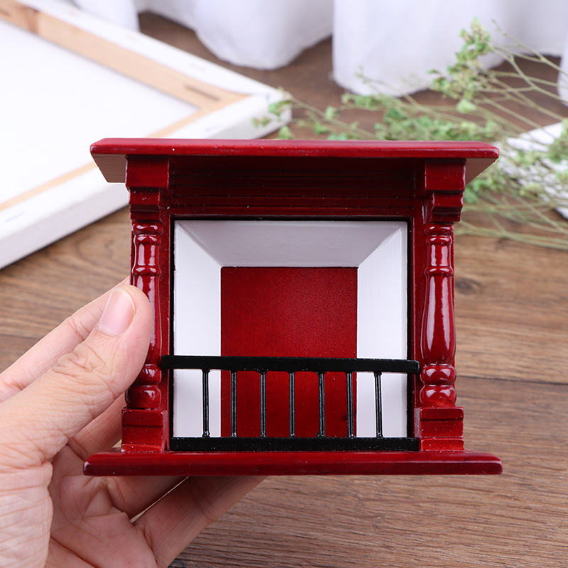 Nova chegada artesanal 1/12 escala casa de bonecas miniaturas tv gabinete mesa de madeira brinquedos móveis bonecas casa