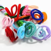 Peluche à paillettes colorées de 6, 8, 10mm, 1 mètre de Long, tiges de Chenille pour enfants, jouets éducatifs créatifs, artisanat