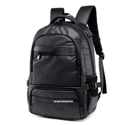 USB Charging Port Backpack Breathable Wear Simple Oxford Cloth Bag Mens Computer Bag Trend Sports Bag B50 Mochila Feminina