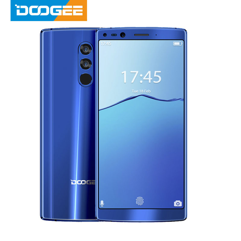 DOOGEE Mix 2 6GB RAM 64GB ROM Helio P25 Octa Core 5.99'' FHD+ Smartphone Quad Camera 16.0+13.0MP 8.0+8.0MP Android 7.1 4060mAh