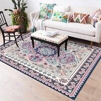 Clássico Persa Tapetes Para Sala de estar Corredor Kilim Tapetes de Área Grande Home Decor Sofá Marrocos Tabela Não-Deslizamento Quarto tapetes do assoalho