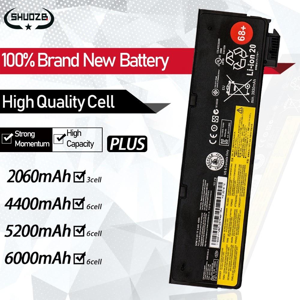 Bateria para laptop lenovo thinkpad, bateria com novo portátil para lenovo thinkpad x270 x260 x240 x240s x250 t450 › t450s pro k2450/cs-45n1136 45n1738