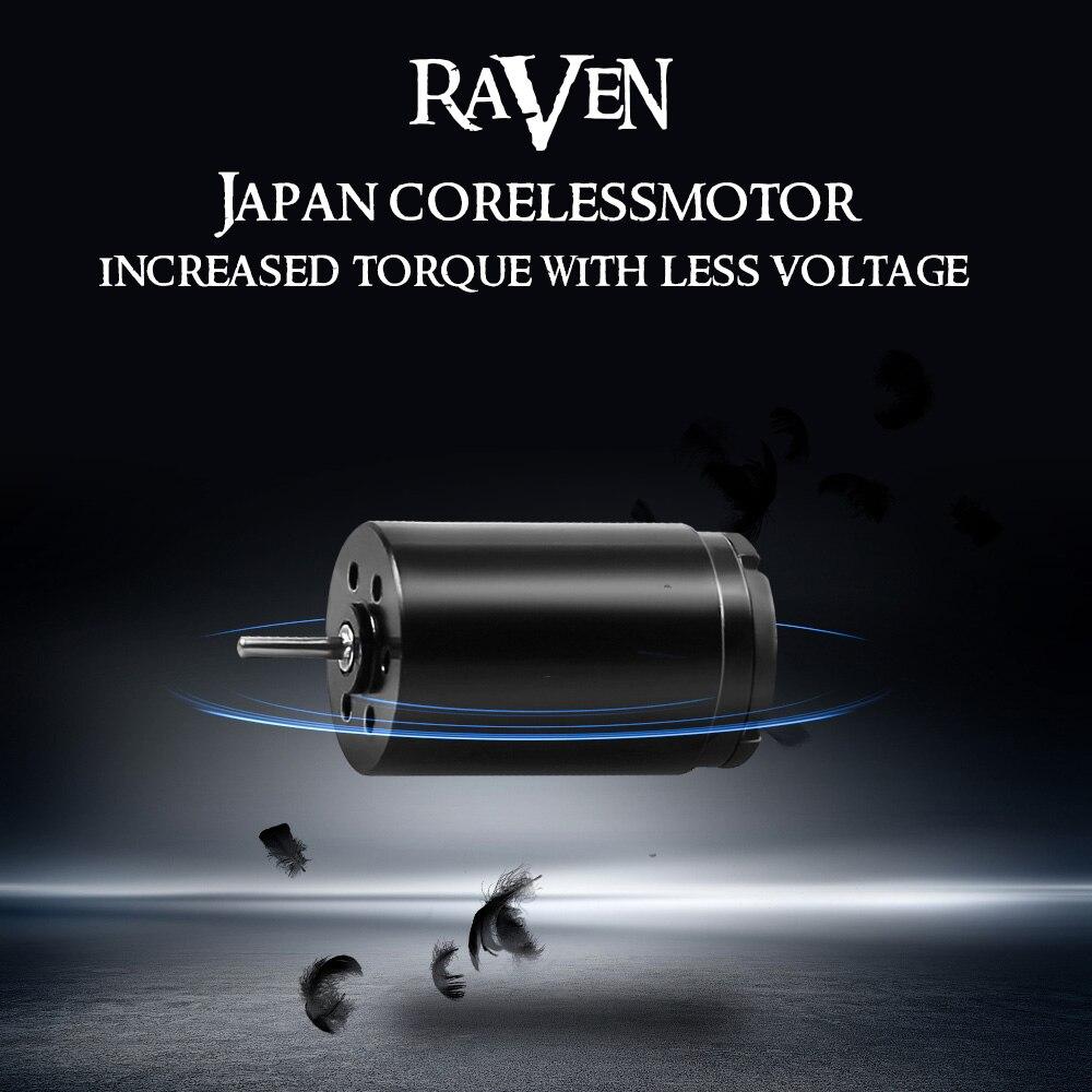 Dragonhawk Raven Rotary Tattoo Machine New Design One Touch Hit Adjuster Machine with 304 Steel Tattoo Grip