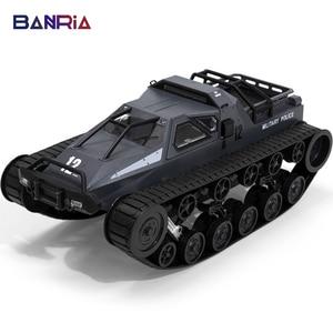 2.4G RC Tank four-wheel Large