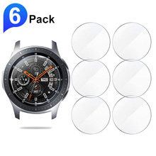 6pcs Screen Protector Glass for Samsung Galaxy Watch 46mm 42