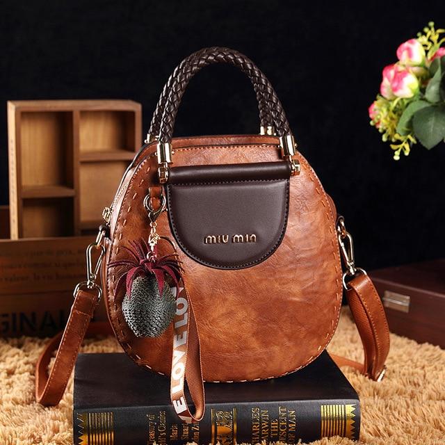 Small Summer Vintage Bags For Women 2020 Pu Leather Tote Handbag Woman Messenger Shoulder Hand Crossbody Luxury Designer AB02
