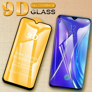 Перейти на Алиэкспресс и купить 9D полное покрытие экрана Защитная пленка Закаленное стекло для Realme X3 Super Zoom 6S 6i C3 6 5 5s 3i 3 XT X2 Pro C2 Q X Lite