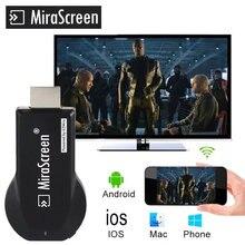 M2 pro tv vara wi-fi display receptor anycast dlna miracast airplay espelho tela hdmi-adaptador compatível mirascreen dongle