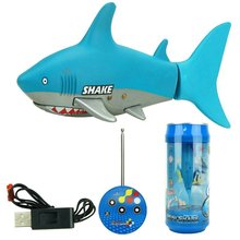 Акула Форма RC электрический пульт дистанционного управления Рыба игрушки высокая скорость Дайвинг игрушка 3-CH игры игрушки подарок на день рождения игрушки для детей