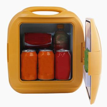 Car Refrigerator 7 Liter Car Hot Dual-use Car Refrigerator Mini 7L Small Refrigerator Electronic Refrigerator фото