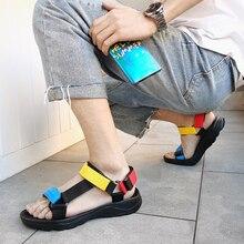 CcharmiX Mens Sandals 2020 New Arrival Vietnam Men Summer Non-slip Outdoor Beach Shoes Canvas Big Size