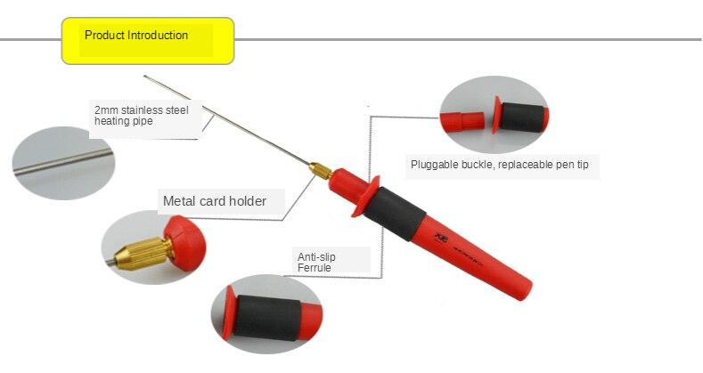 espuma da pena 24w 110v-240v do cortador
