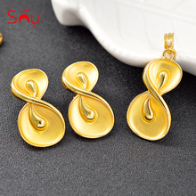 Sunny Jewelry Trendy Jewelry Sets For Women Earrings Necklace Pendant Bowknot Jewelry For Anniversary Party Jewelry Findings
