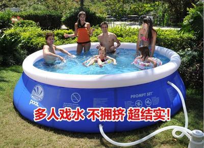 Piscina inflable de alta calidad para niños y adultos uso en el hogar remo piscina de gran tamaño inflable redondo piscina para adultos 5
