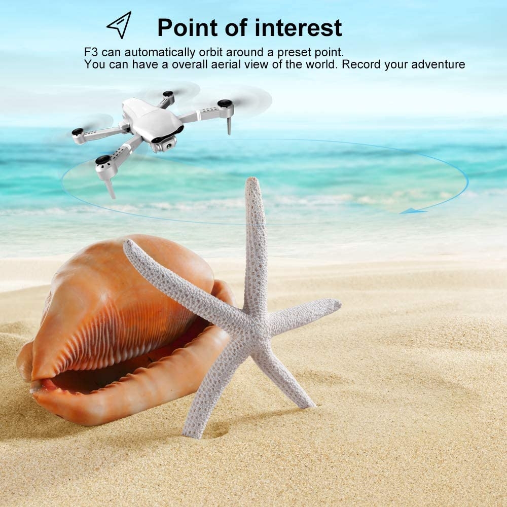 F3 drone GPS 4K 5G WiFi live video FPV quadrotor flight 25 minutes rc distance 500m drone Profesional HD wide-an dual camera-4