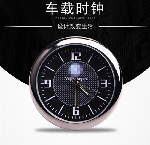 Car decoration car clock watch modified car interior electronic quartz watch For Hyundai Sonata IX35 KIA Volkswagen etc. YZY