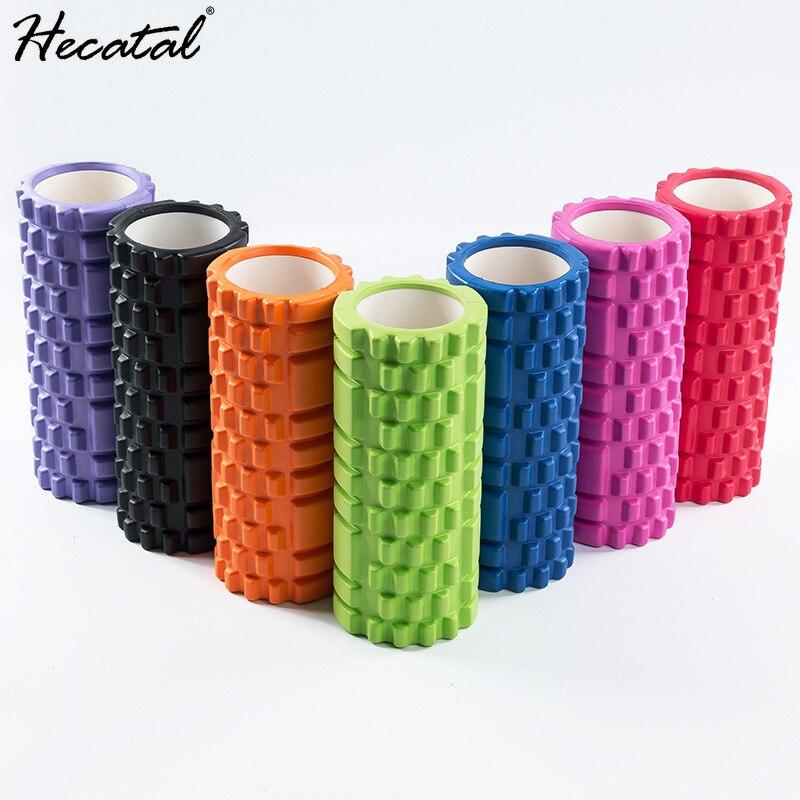 HECATAL EVA Hollow Yoga Column Balance Stick Foam Shaft Pilates Column Yoga Column Fascia Stretching Fitness Auxiliary Supplies