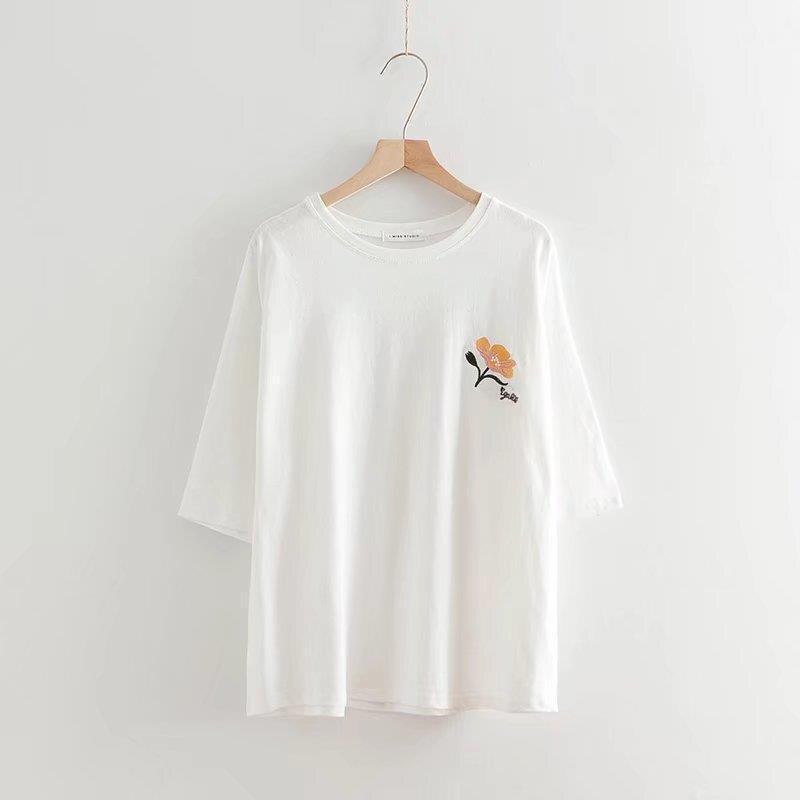 summer t shirt women casual lady tshirt clothing t-shirt printed fashion shirt