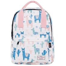 Laptop Backpack Woman School Bagpack 2019 Trendy Female Backpack School Bag for Teenage Girls Waterproof Travel Bag Mochila New