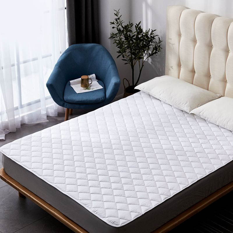 Mattress Pad Cover Protective Fitted Sheet Mattress Cover Stretch Up Bed Pad Waterproof Mattress Soft Mattress Topper Home Hotel