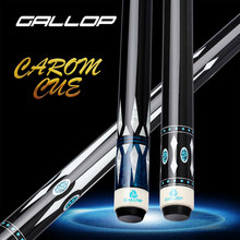 GALLOP HERO1-2 Carom Billiard Cues 3 เบาะเกม Billar 12mm เคล็ดลับ Hard Maple SHAFT 8 teetn Joint Professional Carom CUE Stick ชุด(China)