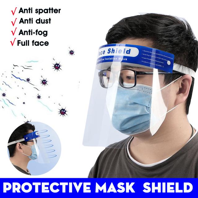 Protection Face Hat Helmet Virus Prevention Respirator Shield