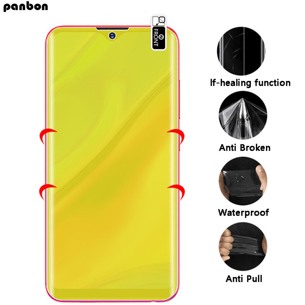 Soft Hydrogel Film for UMIDIGI A5 Pro S3 Pro F1 Play One max Power Full Coverage Screen Guard Self-healing Nano Protective Film