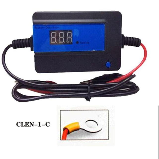 CLEN 2A 200AH Lead Acid Blue Battery Desulfator (CLEN-1-C / terminals  ring  )