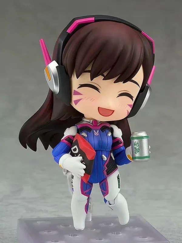 Overwatches D.Va 847 # Figures Song Hana Classic Skin Edition Changeable Face Doll Action Figures Collectable Model Toy Gifts 4